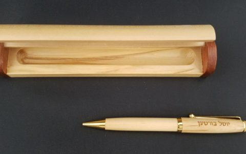 Wood Pen and Case 01
